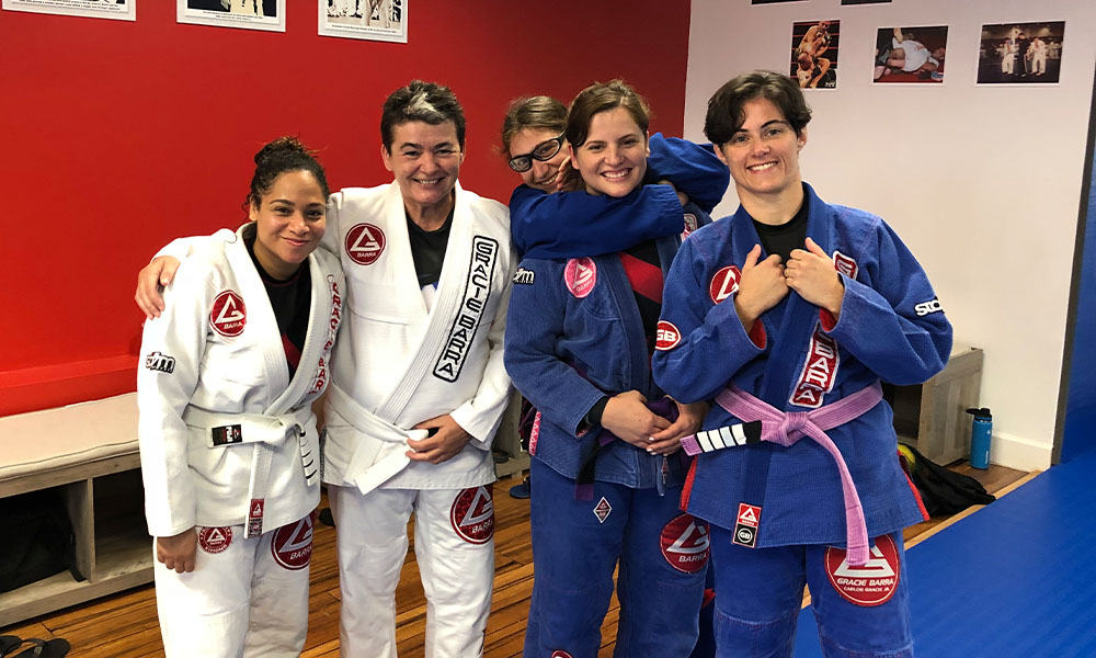 Gracie Barra group picture